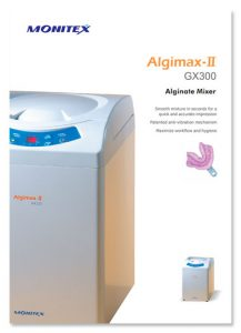 Monitex Alginate Mixer Brochure