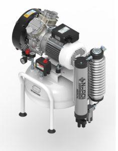 Dental air compressor 25L