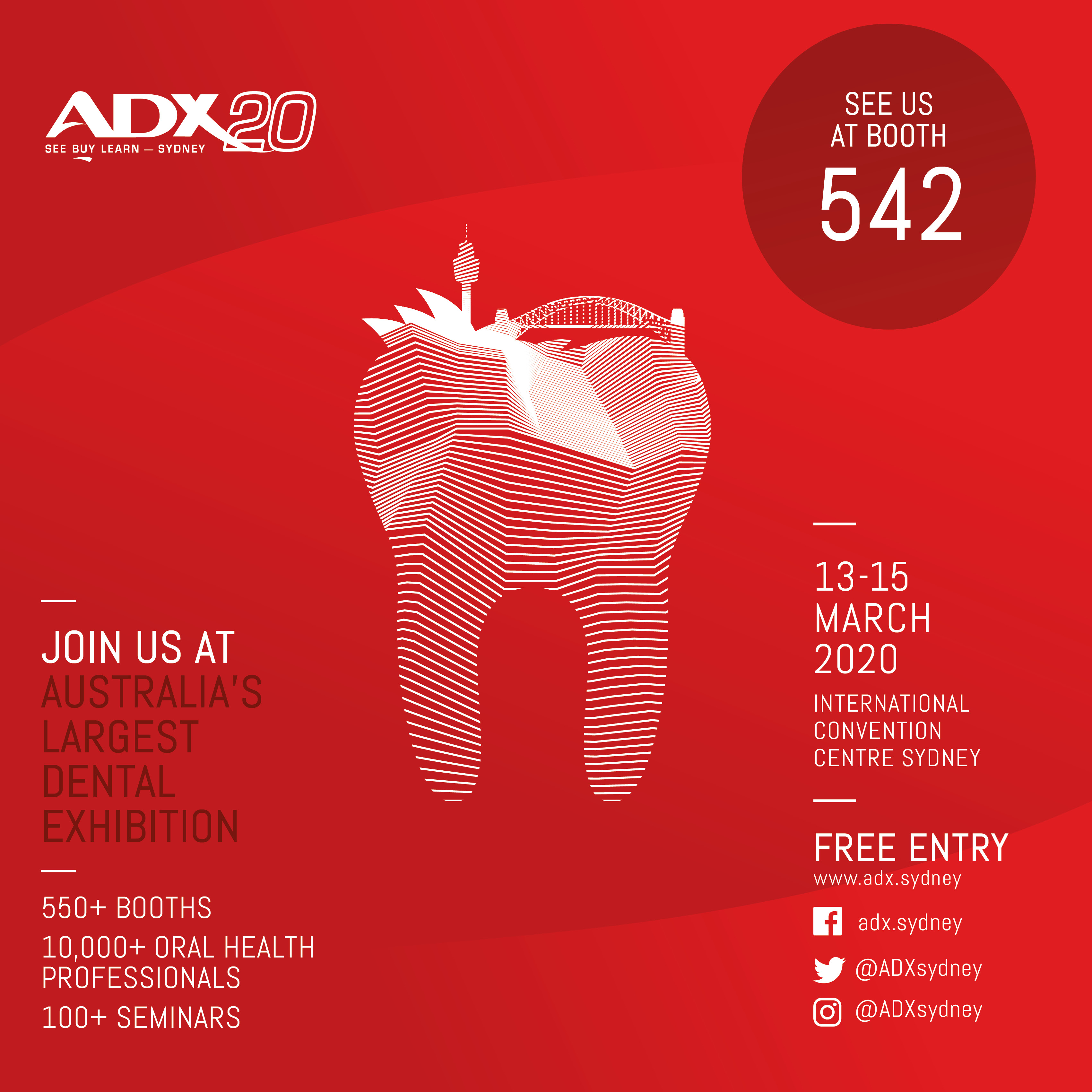542-ADX BOOTH 542